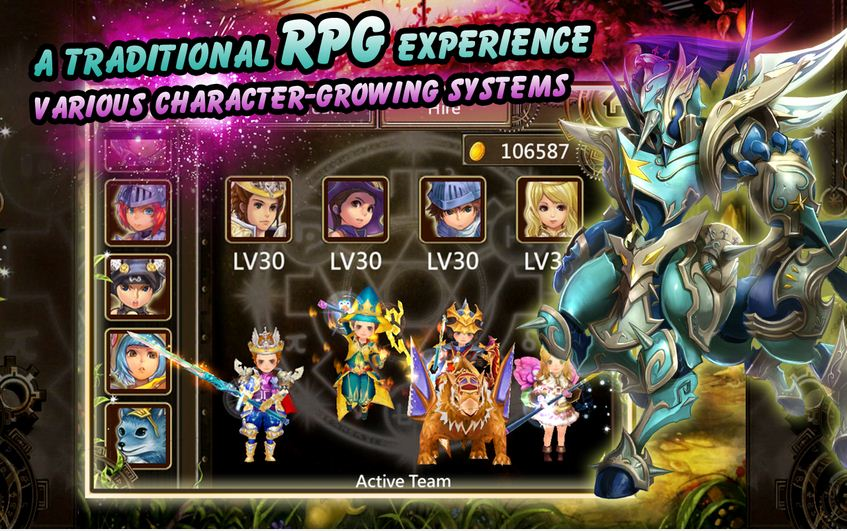 hack game Legend of Roland: Action RPG cho Android
